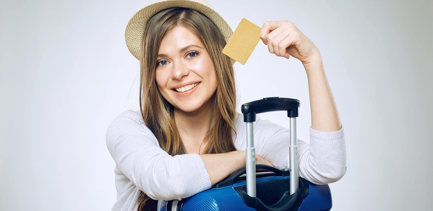 luottokortti matkalla