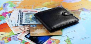 luottokortti ja matkasuunnitelmat